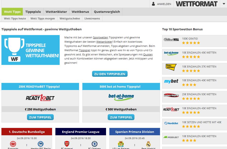 wettformat.com