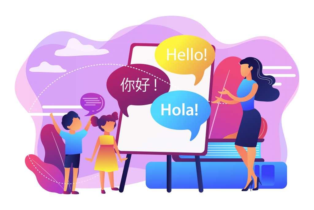 Sprachunterricht für Spanisch